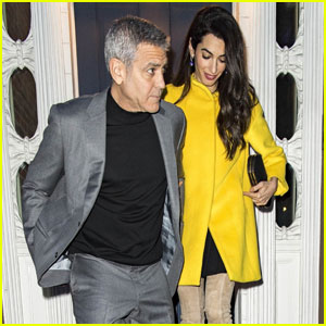 George & Amal Clooney Step Out For Date Night in NYC!