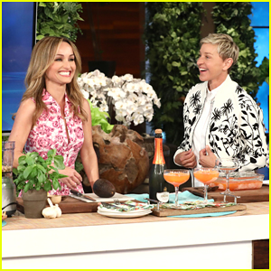 Giada De Laurentiis & Ellen 'Cheers' To Spring with Special Treats!