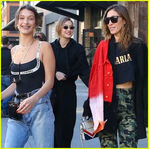 Gigi Hadid Celebrates Her Birthday With Sisters Bella & Alana!