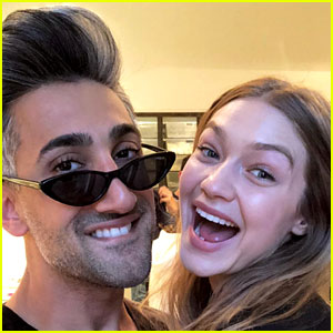 Gigi Hadid Helps Queer Eye's Tan France Celebrate His Birthday!