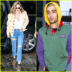 Gigi Hadid & Zayn Malik Step Out Separately After Rekindling Their Relationship