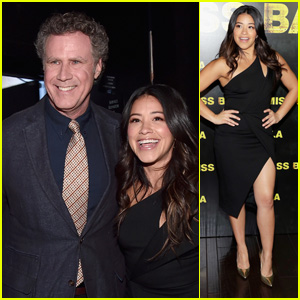 Gina Rodriguez Smiles Alongside Will Ferrell at CinemaCon 2018 Opening Night Event!