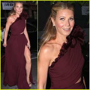 Gwyneth Paltrow Goes Glam for Black Tie Event in LA!