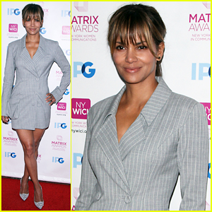 Halle Berry Gets Honored At NYC's 2018 Matrix Awards!