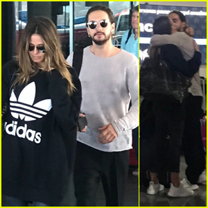 Heidi Klum & New Boyfriend Tom Kaulitz Arrive in Mexico for a Vacation!