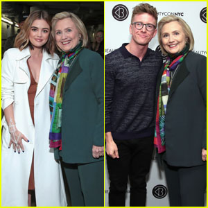 Hillary Clinton Hangs Out at Beautycon Festival NYC 2018!
