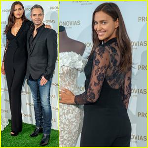 Irina Shayk Flies to Barcelona for Pronovias Bridal Photo Call!