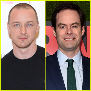 James McAvoy & Bill Hader Are in Talks to Star in 'It' Sequel!