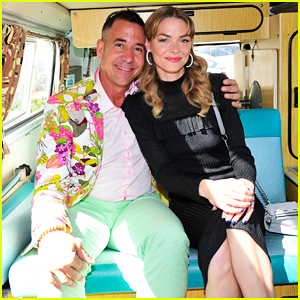 Jaime King Celebrates Hammitt's 10 Year Anniversary at Beach Bash