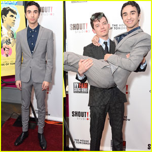 Asa Butterfield & Alex Wolff Premiere 'The House Of Tomorrow' in NYC