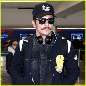 James Franco Makes a Low-Key Arrival at LAX Airport