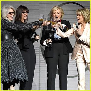 Jane Fonda & 'Book Club' Co-Stars Sip Wine at CinemaCon 2018!