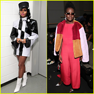 Janelle Monae Gets Support from Lupita Nyong'o at 'Dirty Computer' NYC Screening!