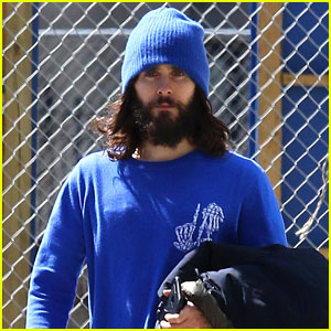 These Might Be Some of the Final Photos of Jared Leto's Beard!