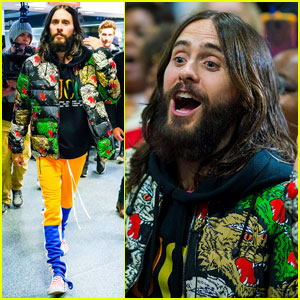 Jared Leto & 30 Seconds to Mars Perform in Subway Stations in NYC - Watch Now!