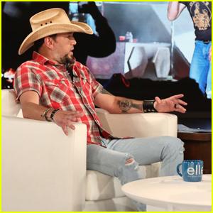 Jason Aldean Talks 'Rough' Meeting with Las Vegas Shooting Survivors on 'Ellen' - Watch!