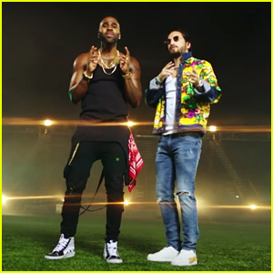 Jason Derulo & Maluma Release 'Colors' Music Video - Watch!