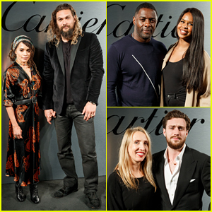 Jason Momoa, Lisa Bonet & More Couple Up at Santos de Cartier Watch Launch!