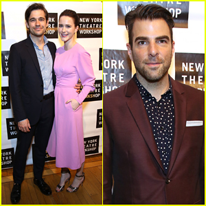 Rachel Brosnahan & Jason Ralph Couple Up at New York Theatre Workshop Gala 2018!