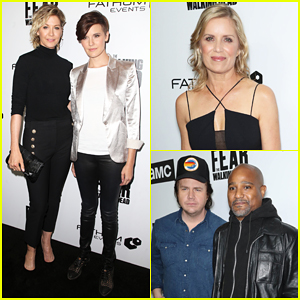 Jenna Elfman, Maggie Grace & More Join Forces at 'The Walking Dead's Survival Sunday Bash!