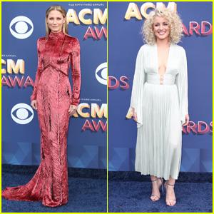 Jennifer Nettles & Cam Hit the Red Carpet at ACM Awards 2018!