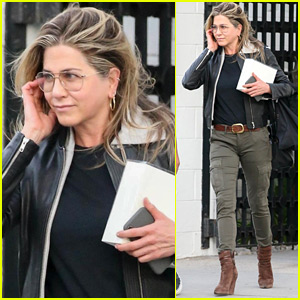 Jennifer Aniston Looks Gorgeous in Rare Post-Split Spotting!