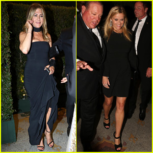 Jennifer Aniston & Reese Witherspoon Arrive for Gwyneth Paltrow's Big Event!