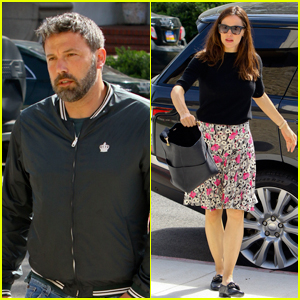 Jennifer Garner & Ben Affleck Take Their Kids to Church Together!