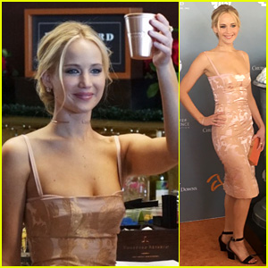 Jennifer Lawrence Kicks Off Derby Week in Her Home State!