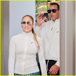 Jennifer Lopez & Alex Rodriguez Visit a Fitness Event in Miami