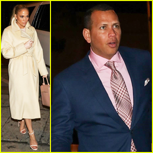 Jennifer Lopez & Alex Rodriguez Step Out for Chic Easter Dinner Date!