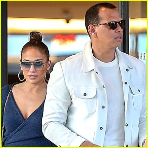 Jennifer Lopez & Alex Rodriguez Take Their Daughters Shopping in Beverly Hills!