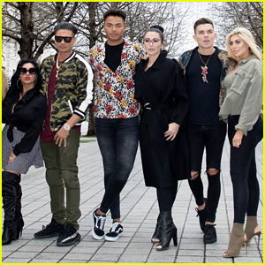'Jersey Shore' & 'Geordie Shore' Cast Meet Up in London!