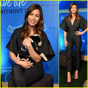 Jessica Biel Looks Chic While Hosting American Express Experience in NYC!
