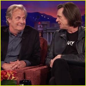 Jim Carrey & Jeff Daniels Have Surprise 'Dumb and Dumber' Reunion on 'Conan'!