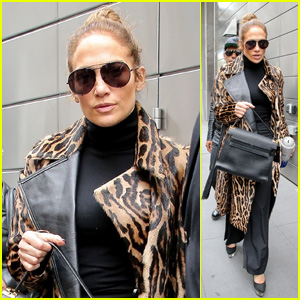 Jennifer Lopez Looks Fierce in Animal Print While Stepping Out in NYC!