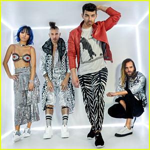 Joe Jonas & DNCE Launch New Shoe Collection With K-Swiss