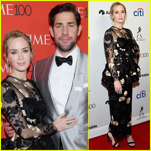John Krasinski & Emily Blunt Couple Up for Time 100 Gala 2018!