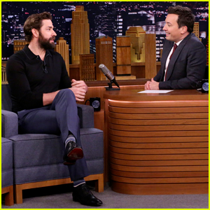 John Krasinski Realized He 'Married Up' After Exchange with London Customs Agent