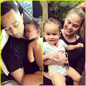 John Legend & Chrissy Teigen Have the Cutest Daughter! (Photos)