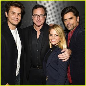 John Mayer Joins 'Full House' Stars at Beverly Hills Film Festival!