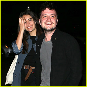 Josh Hutcherson & Girlfriend Claudia Traisac Check Out Dave Chappelle's Private Show