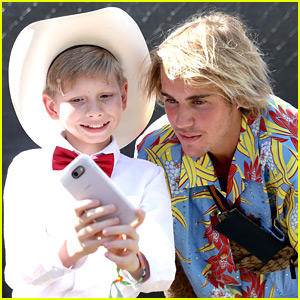 Justin Bieber Yodels Around Coachella After Meeting Walmart Kid (Video)
