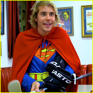 Justin Bieber Plays a Canadian Superman in New Comedy Video