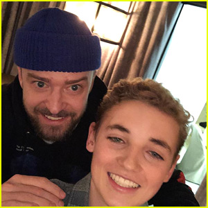 Justin Timberlake Reunites with Selfie Kid Two Months After Super Bowl 2018!