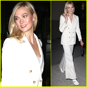 Karlie Kloss Stuns During Night Out in NYC!