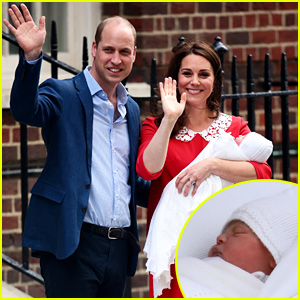 Kate Middleton & Prince William Debut Royal Baby - First Photos!