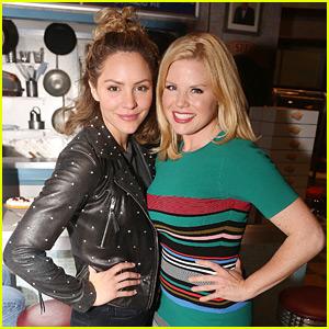 Smash's Katharine McPhee & Megan Hilty Reunite on Broadway