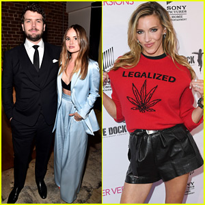 Katie Cassidy Endorses Legalized Marijuana at Her Movie Premiere!
