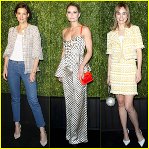 Katie Holmes, Jennifer Morrison, Suki Waterhouse & More Step Out for Chanel's Tribeca Film Fest Artists Dinner!
